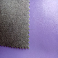 100% water based PU leather,the most eco friendly pu leather material for making bags,shoes DG035