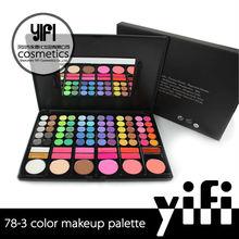 alibaba 78 de color de sombra de ojos con mejor lipgloss maquillaje