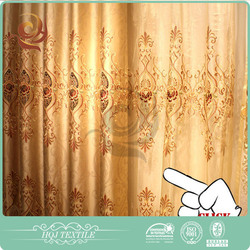 HQJ Factory price Wholesale indian luxury window curtains