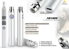 2015 china factory new design huge vapor electronic cigarette battery