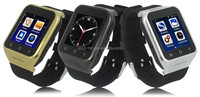 Android wifi Smart Watch with 1.54 Inch Screen, Dual Core CPU, Bluetooth 4.0, Wi-Fi, GPS