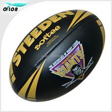 high foam soft machine stitched PVC rugby ball