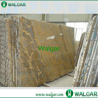 Flamed rain forest olive green granite With High Quality