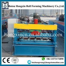 Aluminum / Zinc Color Coated Wall Panel and Roof Tile Roll Forming Machine