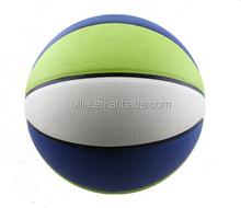 school hot sale 8 panels cheap rubber basketball