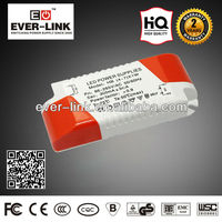 Constant Current 80Vdc SAA CE C Tick Approval 350mA Indoor LED Driver