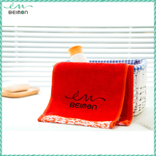 Beimon antibacterial plain white cotton tea towel average bath towel size