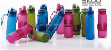 BPA Free Foldable Silicone Water Bottle