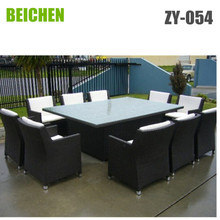 Large Rattan garden Outdoor Furniture Dining Set for 10 people