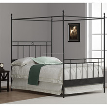 chinese kids/adult bedroom furniture full metal modern/antique canopy bed, bedstead