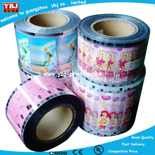 jelly stick packing film,good barrier film and printing quality