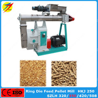 Factory supply ring die feed pellet mill for alfalfa with large capacity for sale