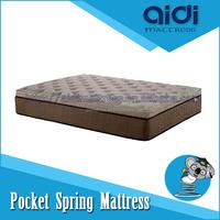 Natural Coconut Fiber Export Germany and America Pocket Spring Bed Mattress AC-1405