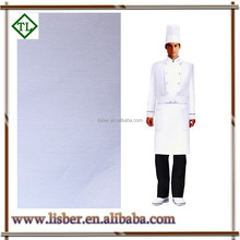 made in china 20*16 120*60 57/58 100%cotton twill chef uniform fabric