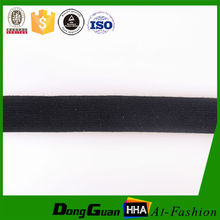 Factory Supply Polyester Thin Knitted Elastic Band
