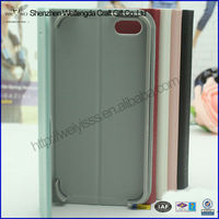 Colorful Leather Skin Case For iPhone5 With A 10 Years Factory