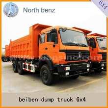 Caminhão basculante carro beiben NG80 cab caminhão 6 x 4 dumper truck venda dubai