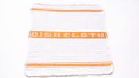 High quality 100% cotton jacquard yellow tea towel