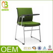 Korea Style Office Training Chair With Writing Tablet