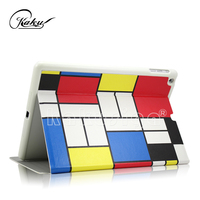 Vivid plaid pattern tablet covers & cases