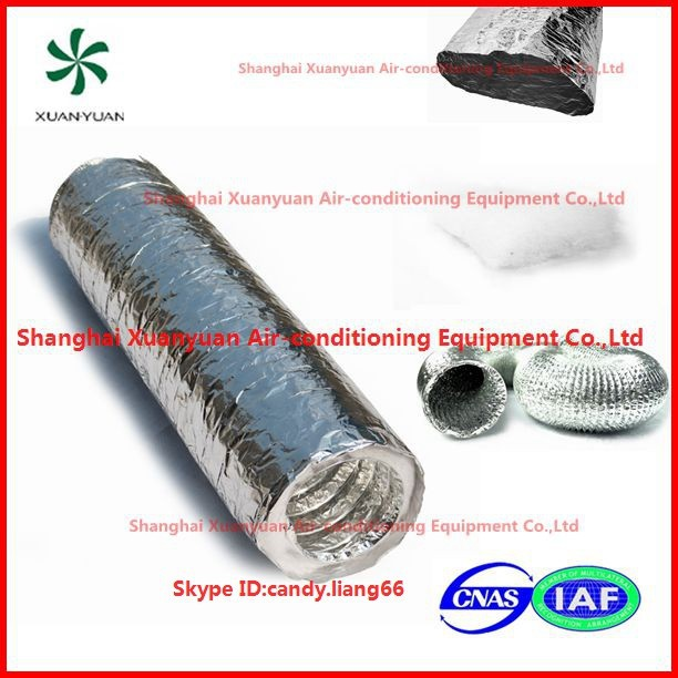 Air Conditioning Flexible Duct : Polyester insulated aluminum flexible duct buy air