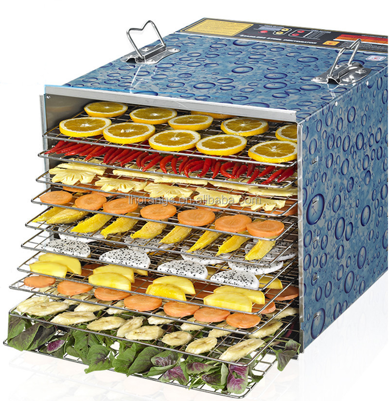 Perfect!!! 10-tray Vegetable Dehydrator/stainless Steel Vegetable Dehydrator Machine