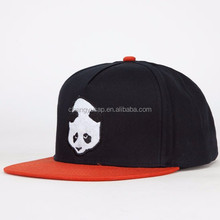 High Quality Custom Two Tone 5 Panels Cotton Caps Wholesale Snapbacks