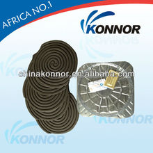 High quality black smokeless mosquito repellent and killer mosquito coil