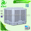 Down discharge 18000m3/h power saving down discharge water fan with ce 240v 50hz swamp air cooling fan