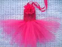 los modelos más populares de las niñas faldas de crochet niños falda de tul