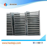 Hot dip galvanizing electric scaffolding for building construction
