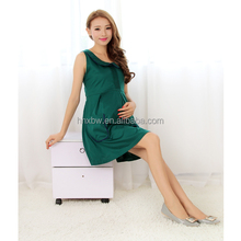 Newest design big sale radiation proof formal maternity clothes