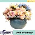 de alta calidad de la decoración de la boda de seda artificial de flores