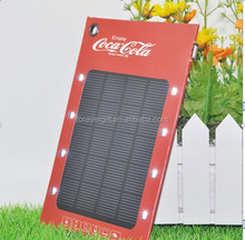 The latest high efficiency really capacity solar charging 1000mah mobile power
