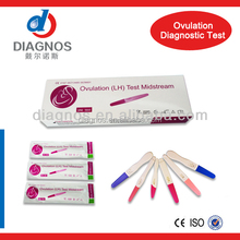 CE & ISO approved factory sale Medical Diagnostic ovulation test kit