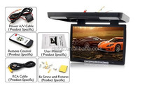 "New dls998 DVD+MONITOR 9"" Black Car DVD/USB/HDMI Headrest Monitors+Video Games"