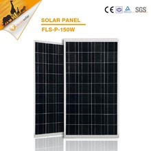 A grade cell photovoltaic pv module poly solar panel 150W 18v for solar home syetem