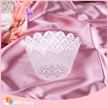 Decorating Wedding Anniversary Baking Cups Cases Engraved Party Favors
