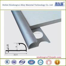 CNC Anodized Customized aluminum tile trim/aluminum corner tile trim_OEM
