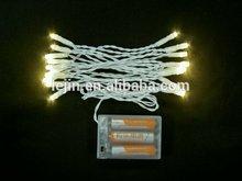 led de luz de la batería para decoraciones navideñas