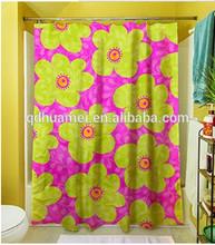 Ventana del baño impermeable cortina