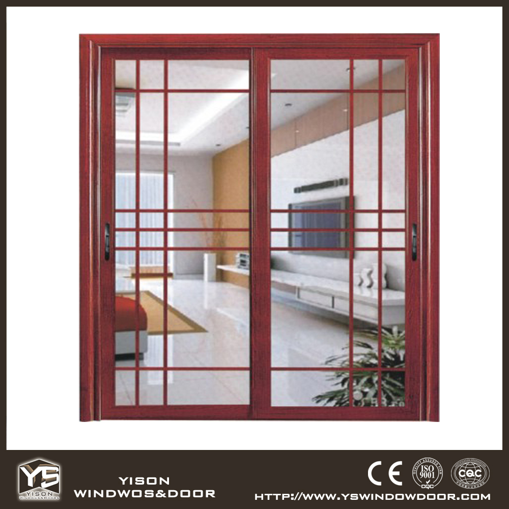 Alibaba Supplier Exterior Aluminum Sliding Door Designs