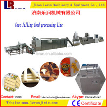 Corn Pillow Shape Core-filling Extrusion Food Process Line