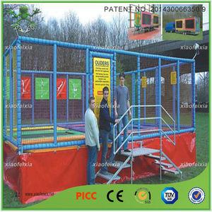 Alta qualidade de trampolim CAMA com rede de segurança