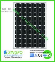 solar panels 250 watt with high quality