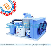 CHINA TOP1 Perfect Appearance Flake Ice Making Machine Plant Flake Ice Maker 2000kg Per Day for Supermarket Keep Fresh