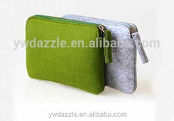 2015 promotional zipper leather cosmetic pouch