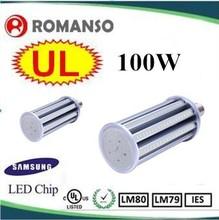 6500K 100w led corn light bulbs grow light UL listed