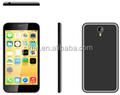 Une bonne conception 2015 5'' techno téléphone dual sim téléphone mobile 4g android5.0 pour quad core