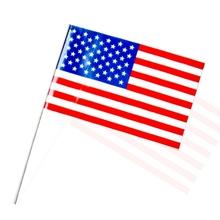 pe bandera de la mano